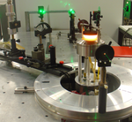 Experimental set-up for particulate multi angular scattering measurements