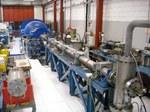Vista del laboratorio con il tunnel pulsato ad alta entalpia, utilizzato per studi su propulsori per il volo supersonico ed ipersonico (statoreattori, motori a ciclo combinato)