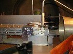 Tunnel ipersonico pulsato: un modello si propulsore strumentato e installato nella camera di prova